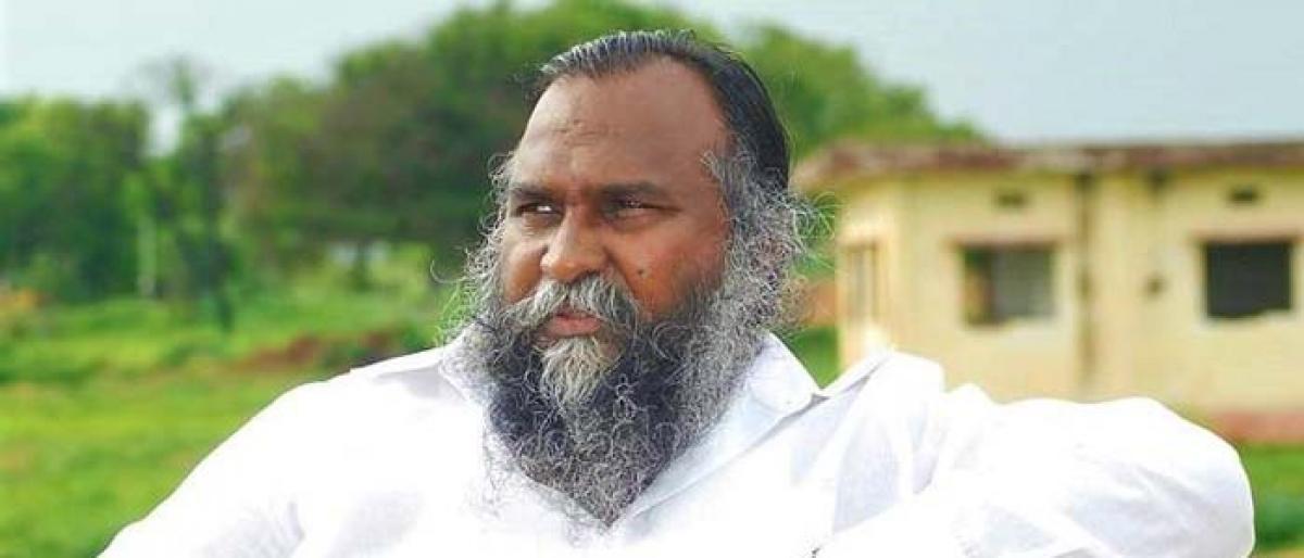 Ex-lawmaker Jagga Reddy gets bail in human trafficking case