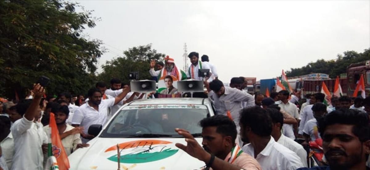 Only Congress can develop Telangana: Jagga Reddy