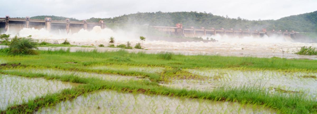 16 gates of Kadem dam opened; Heavy inflow into reservoir