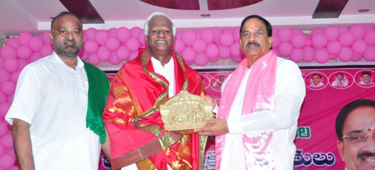 40 years growth in 4 years, Telangana a model State: Kadiyam Srihari