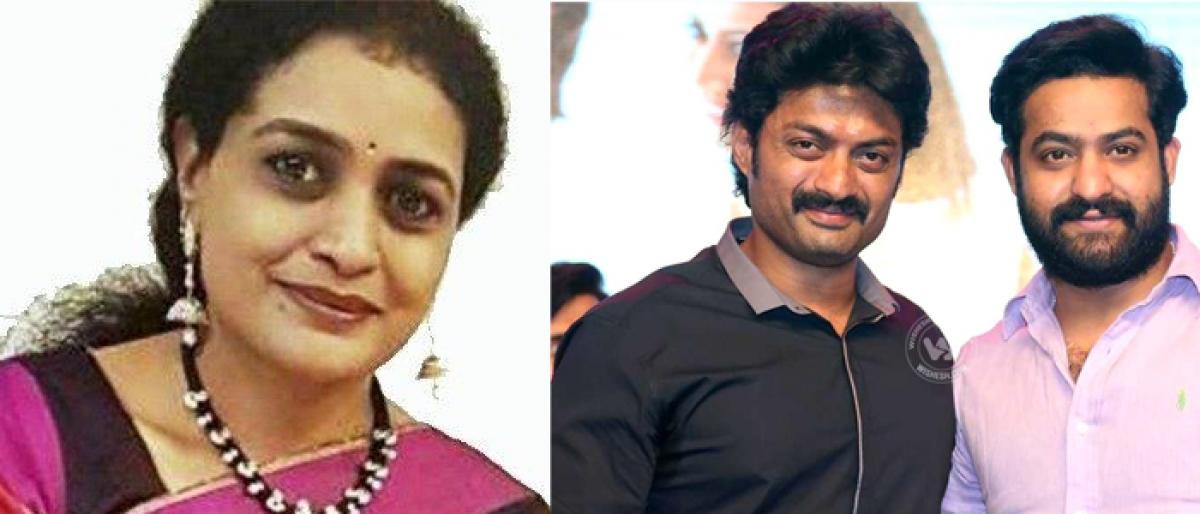 Jr NTR and Kalyan Ram wishes Suhasini's candidature from TDP