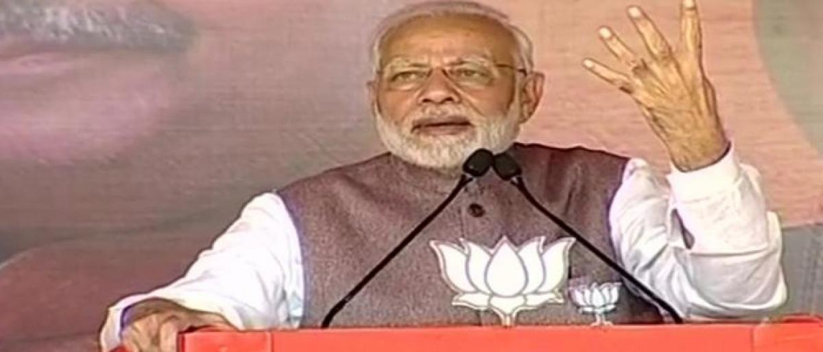 Modi hits out at Cong in Chhattisgarh, says 4 generations of rule yielded no result