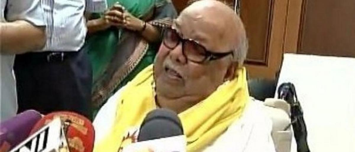 248 party workers died by hearing M Karunanidhi's death: DMK