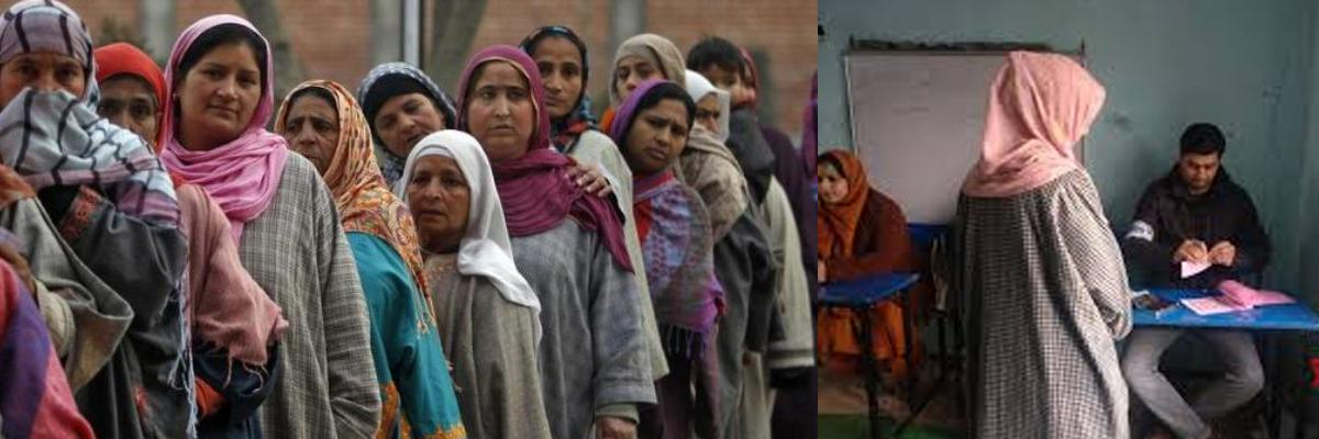 Voting underway for 8th phase of J&K panchayat polls