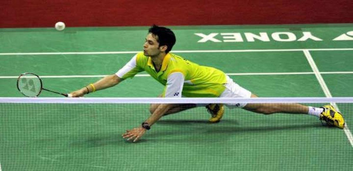 Kashyap aims to win Yonex Sunrise India Open