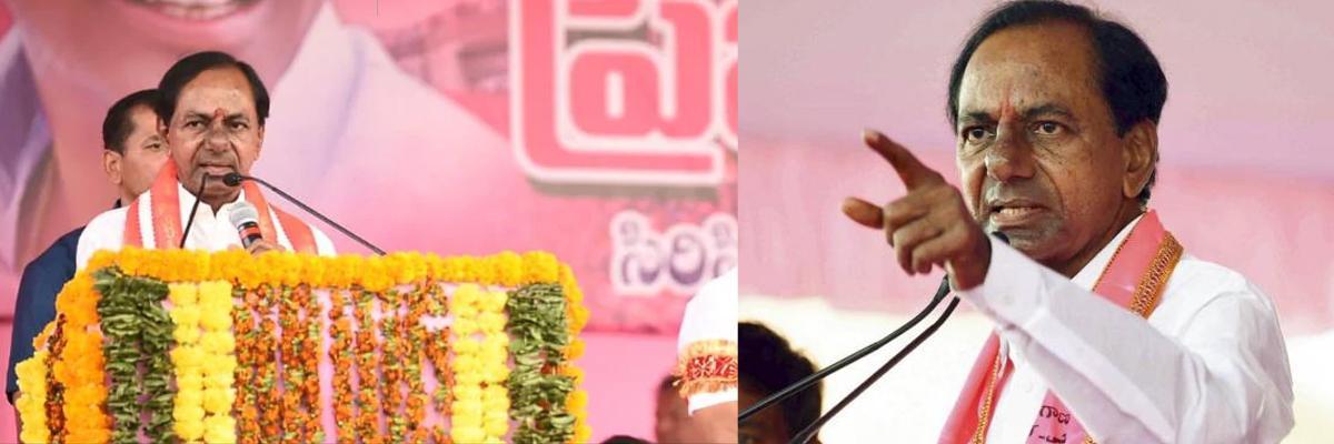 Telangana Elections 2018: Watch: KCR loses cool at man in rally, Congress calls him dictator