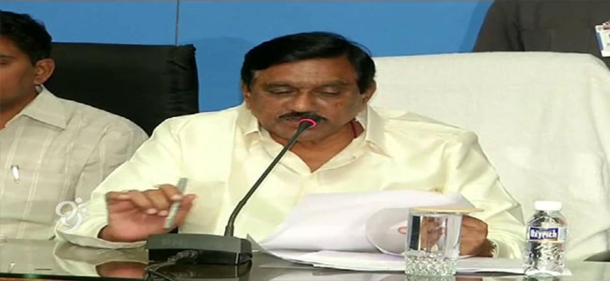 Deputy Chief Minister KE Krishnamurthy confident of TDP victory in next polls