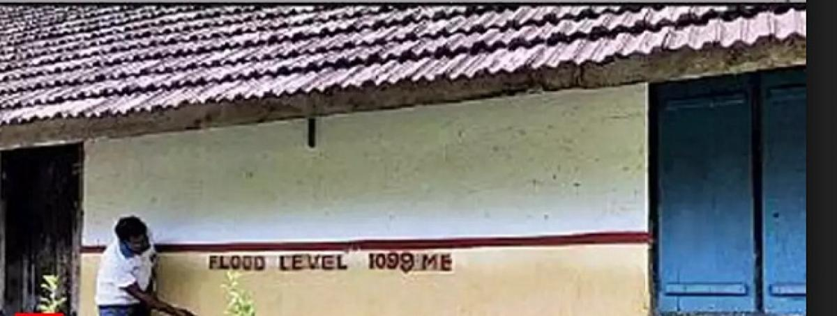 Kerala Government orders for marking of flood water levels as done in 1924.