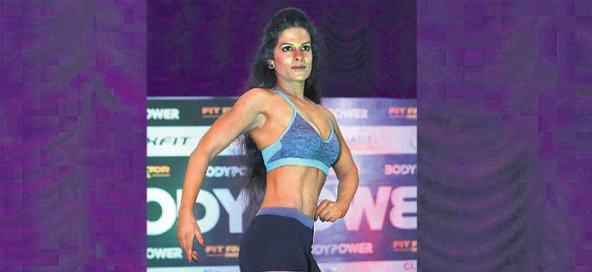 Ambarpet girl wins Fit Factor Hyderabad contest