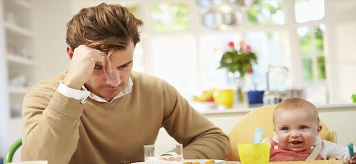 Father's stress linked to kids' brain development
