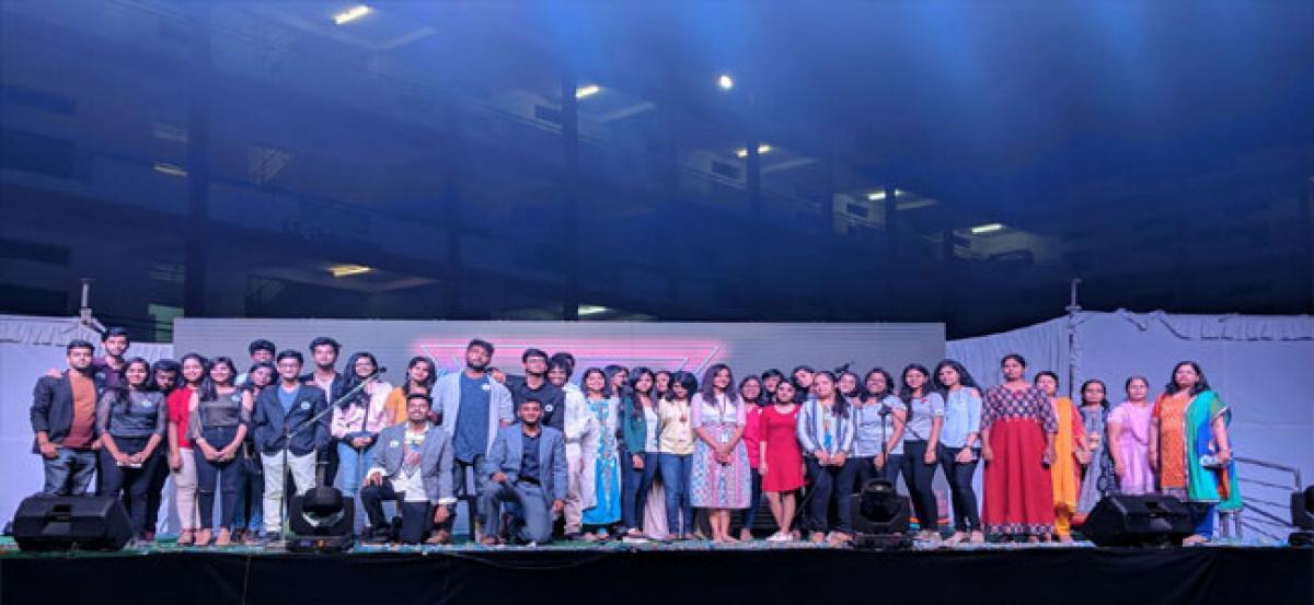 KMIT students deliver exhilarating performance