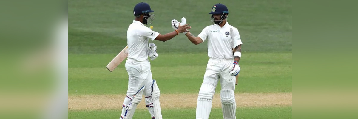 3rd Test: Pujara ton powers India to 277/2 at lunch on Day 2