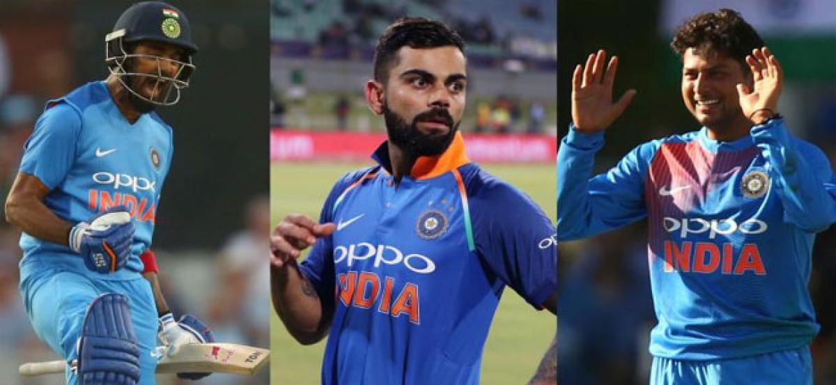 Heres how Virat Kohli lauded Kuldeep Yadav, KL Rahul as India win 1st T20 vs England
