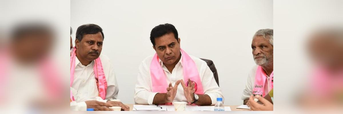 Gear up for local body, parliament elections: KTR to party leaders