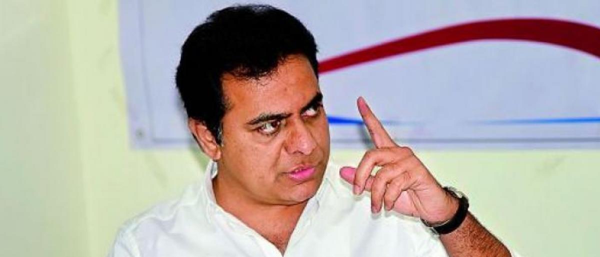 KTR ridicules AP CM Naidu meeting Rahul Gandhi