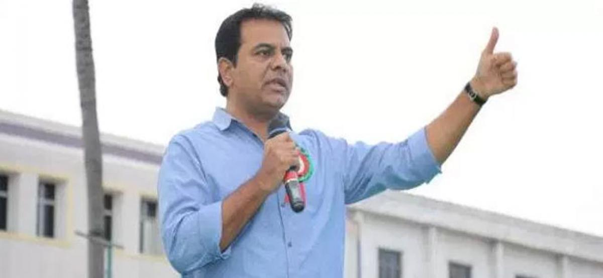 KTR dares congress to declare elections a referendum