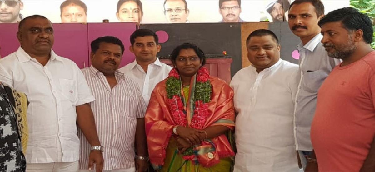 Seshu elected standing committee member