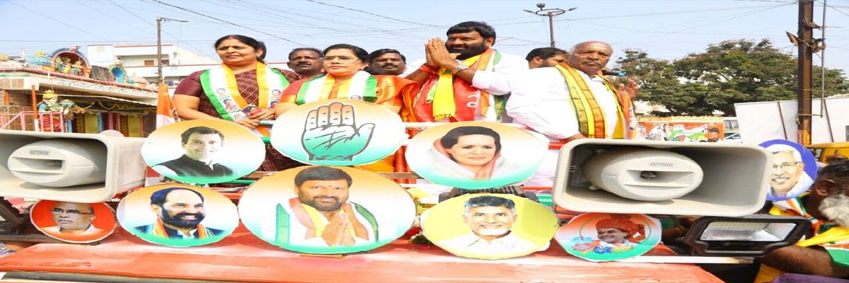 Kuna Srisailam surges ahead in campaign