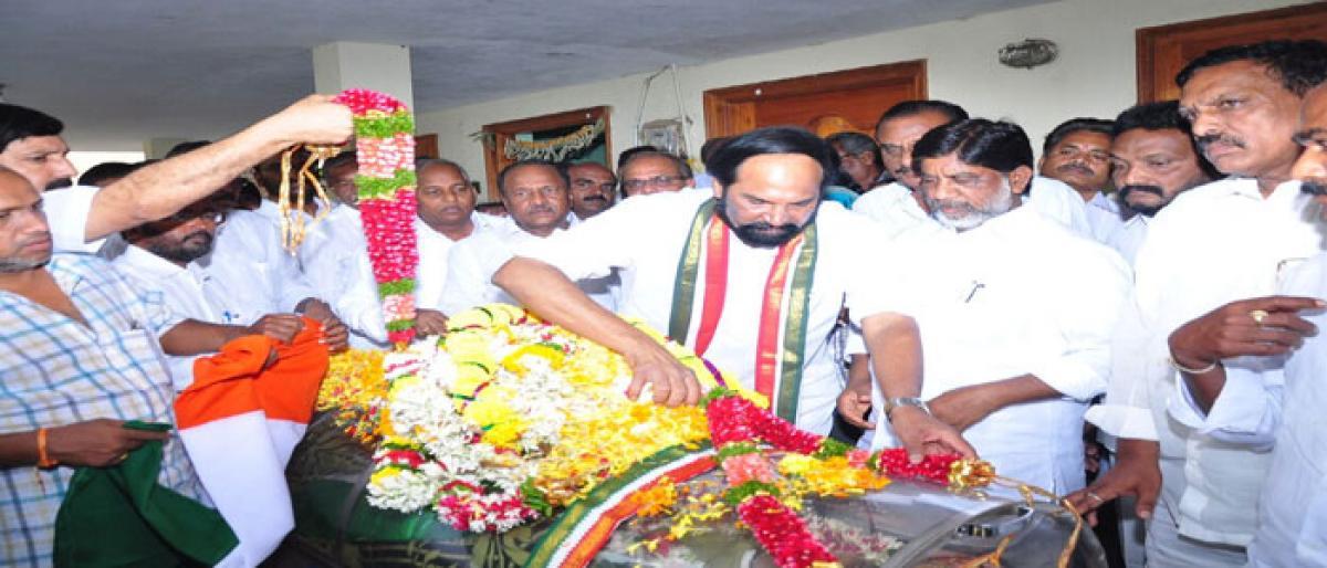 Congress leader Aitam Satyam passes away