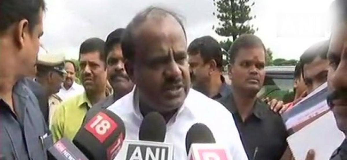 CM Kumaraswamy denies family named as defaulters in BBMP survey