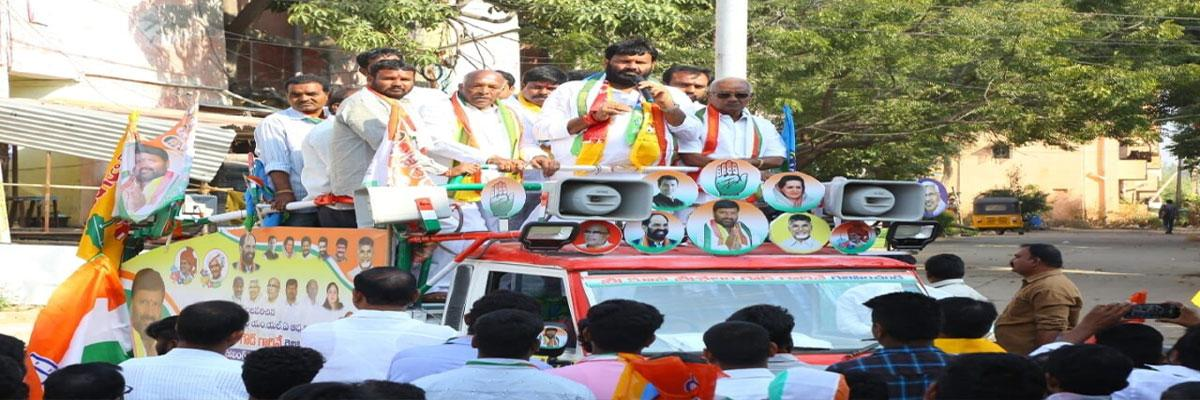 Kuna Srisailam Goud spirited rally attracts all