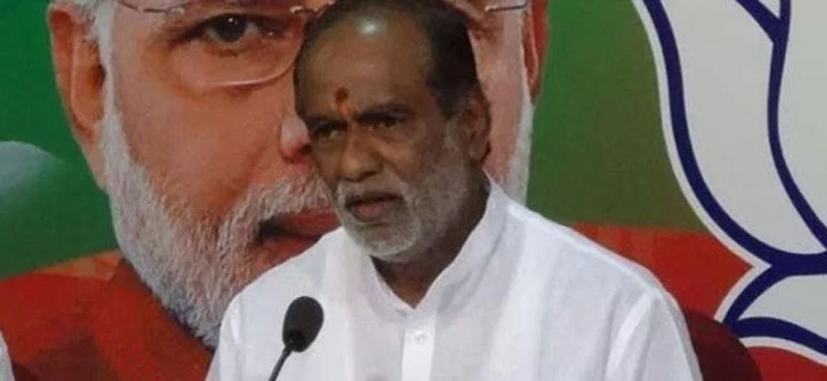 BJP announces farm loan waiver if voted to power in Telangana