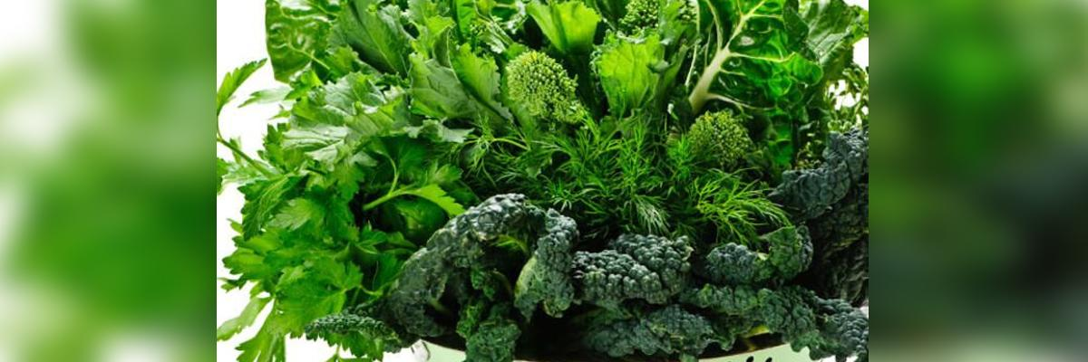 Green leafy vegetables may prevent fatty liver disease