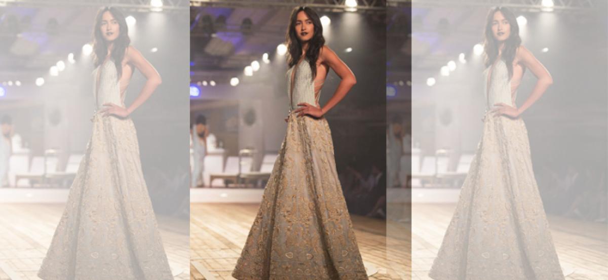 Monisha's 'Shades of Diva' for Lakme Fashion Week finale
