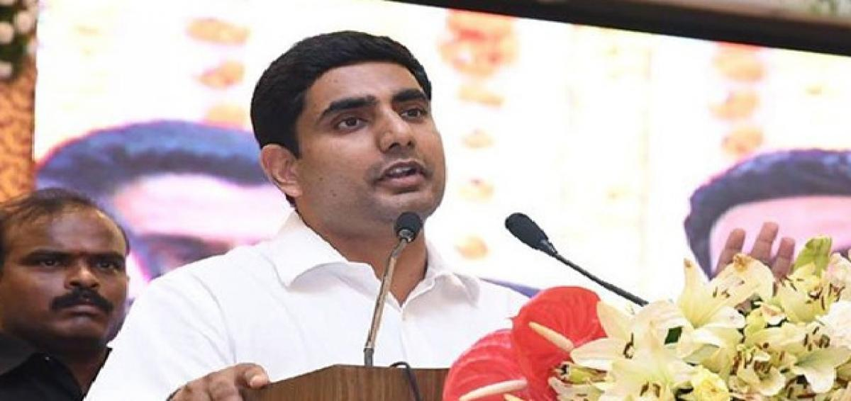 Centre should fulfil all promises: Lokesh