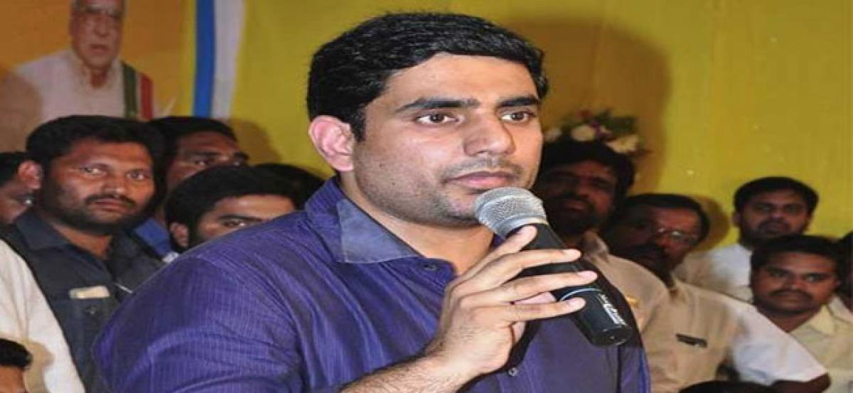 Lokesh vows to develop Nandyal on all fronts
