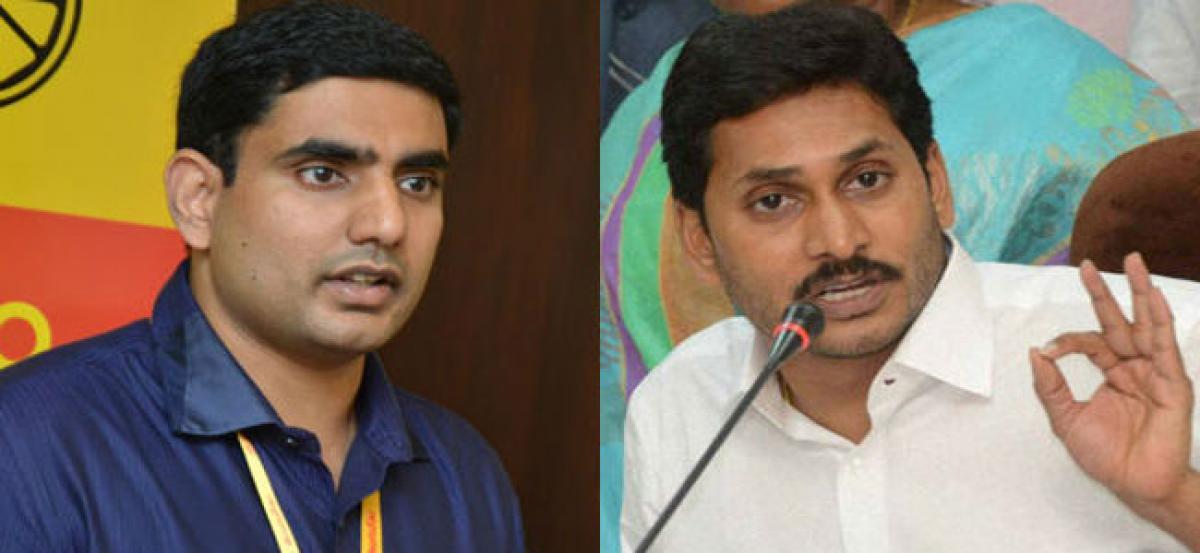 Lokesh slams YS Jagan, accuses corrupt No 1