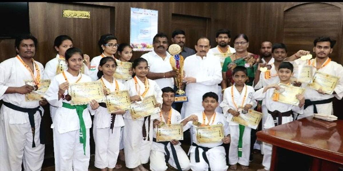 GVR Karate Academy students bag medals