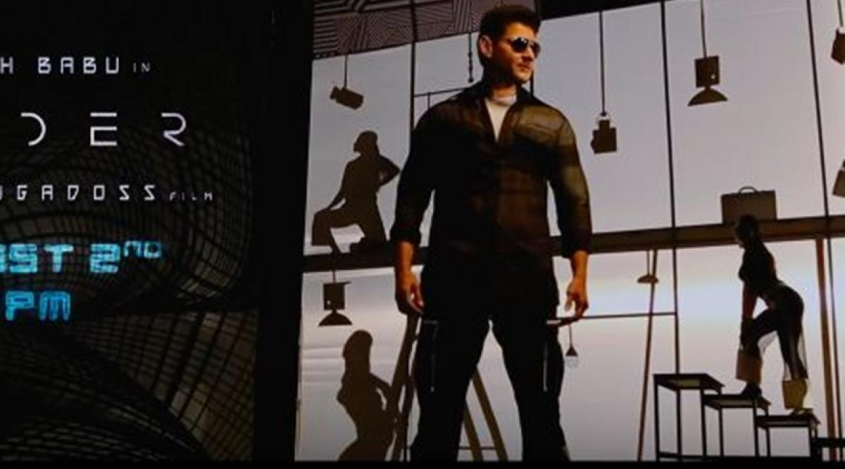 Mahesh Babus Spyder Boom Boom song will be out on August 2nd