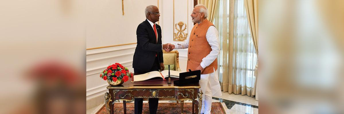 Hope of a new chapter for India and Maldives