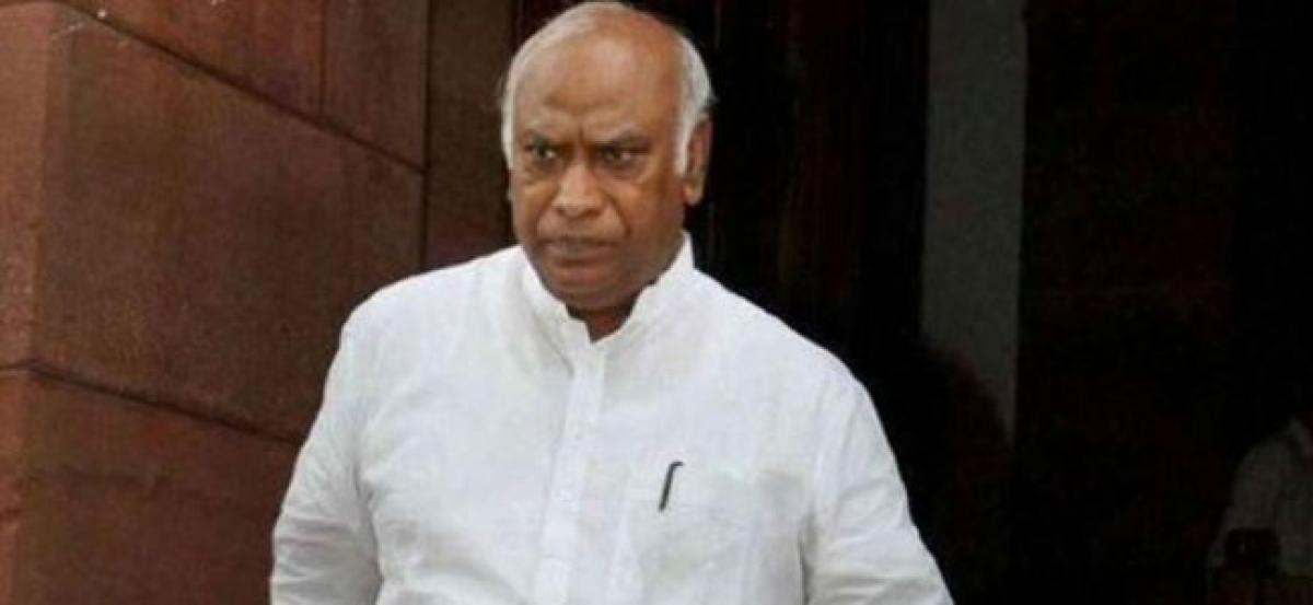 Congress Mallikarjun Kharge writes to PM Modi, to boycott Lokpal meeting again