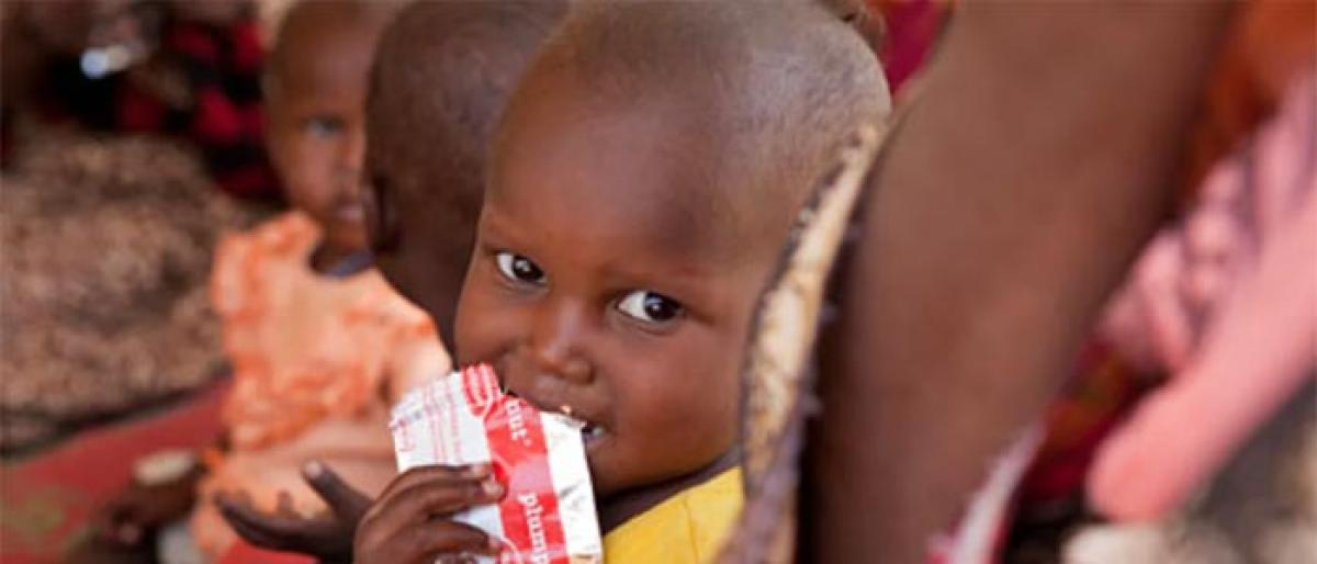 Centre okays therapeutic food for malnourished children
