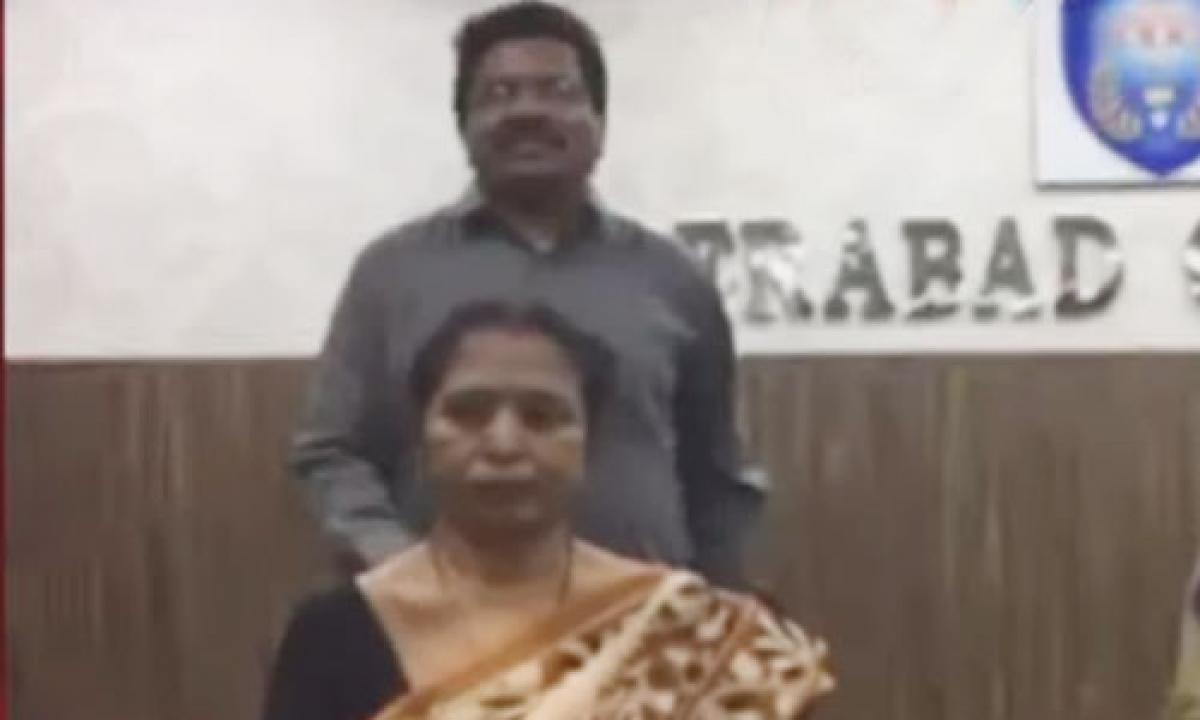 Hyderabad: Maoist couple surrenders before police