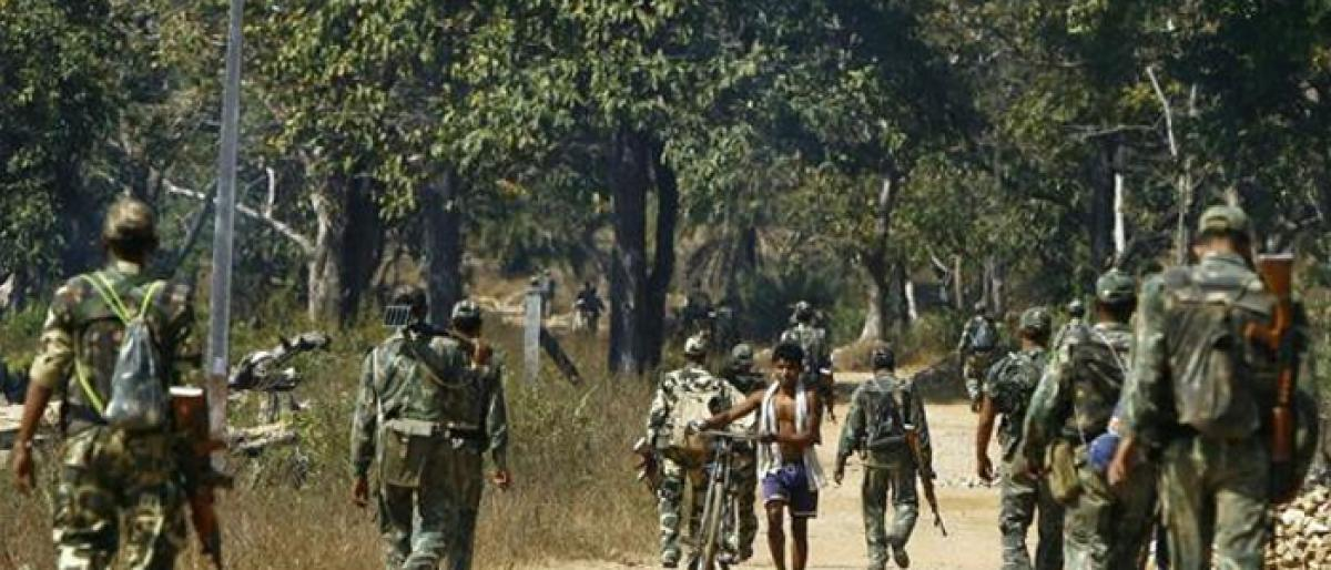 Two CRPF personnel injured in Maoist attack
