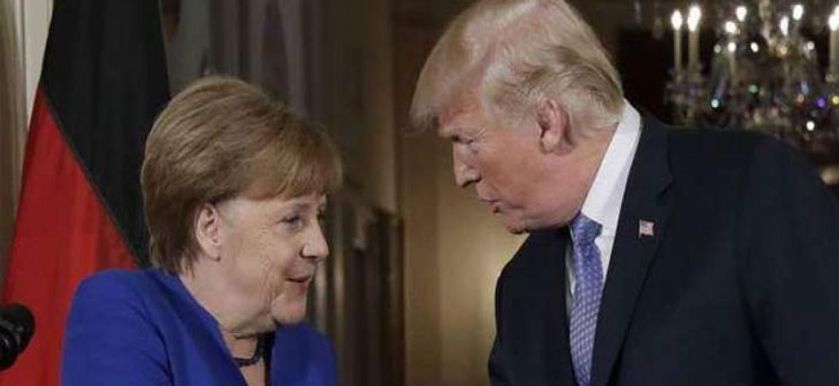 Merkel fires back at Trump: Germany makes