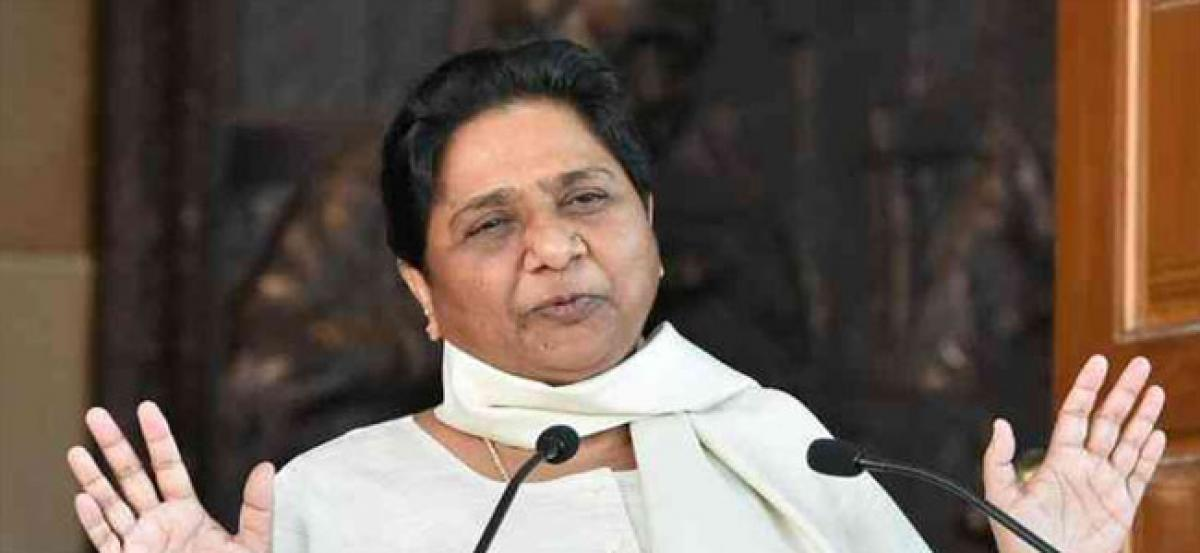 Mayawati questions PM Modis silence on black money