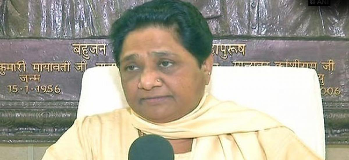 Mayawati removes BSP leader from post for Rahul Gandhi comment