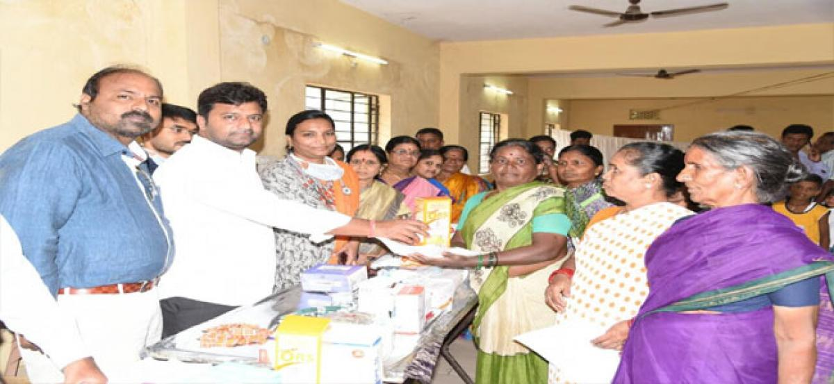 Free medical camp held