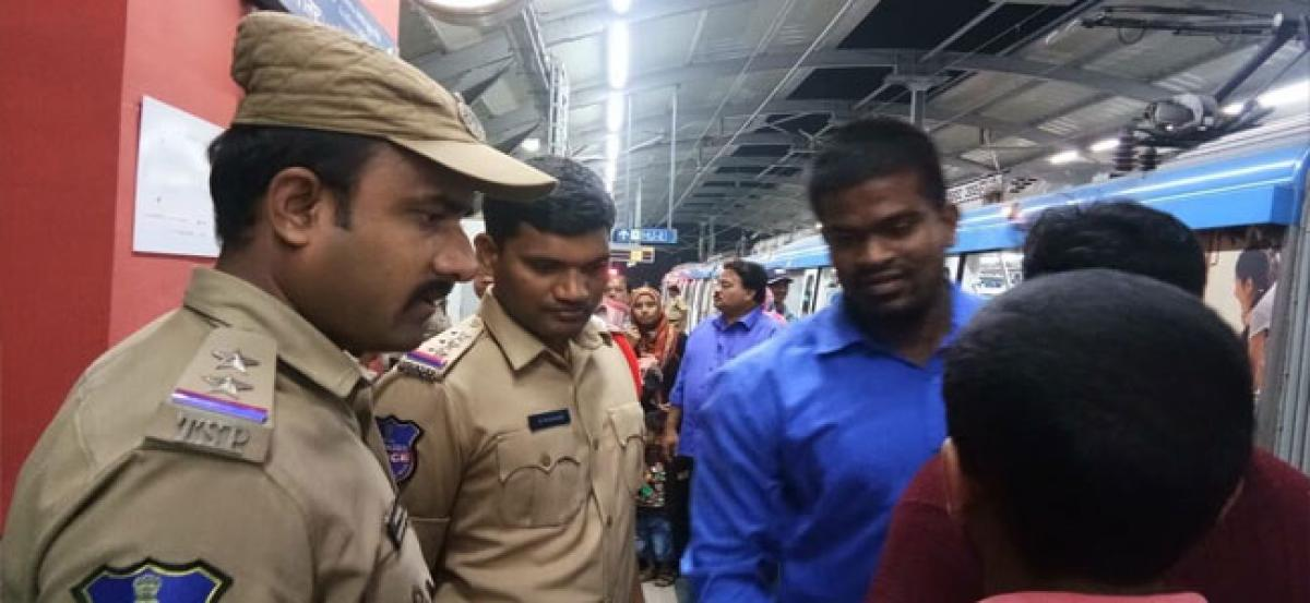 Safety drive held for Metro Passengers