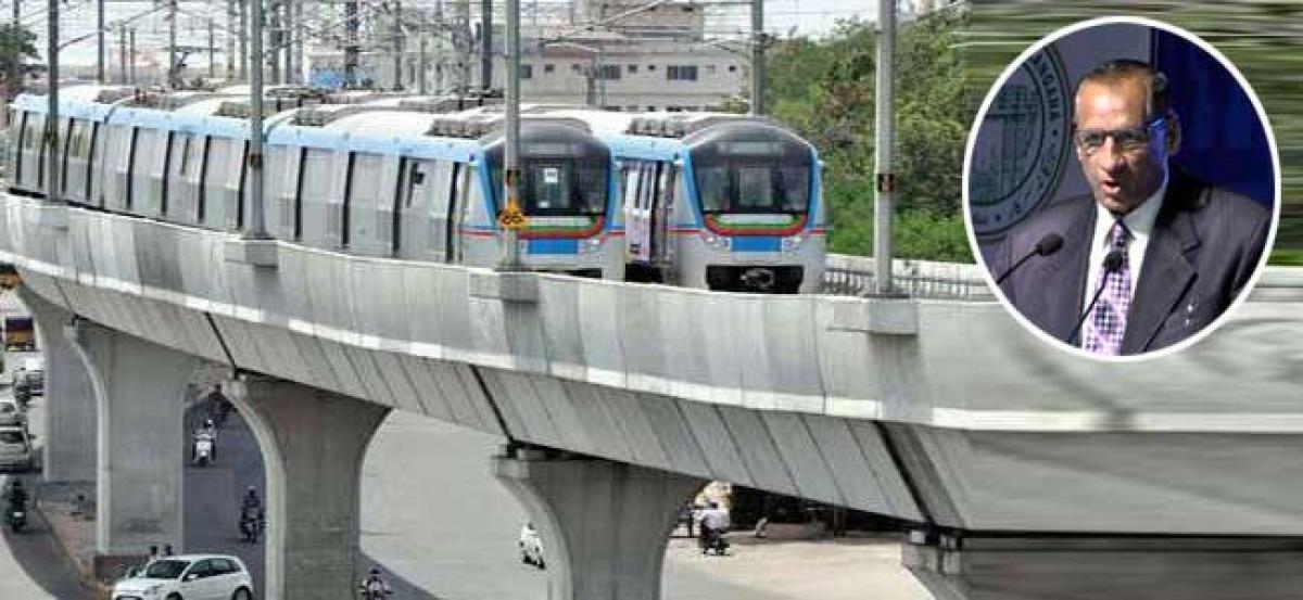 LB Nagar - Ameerpet metro services to begin today