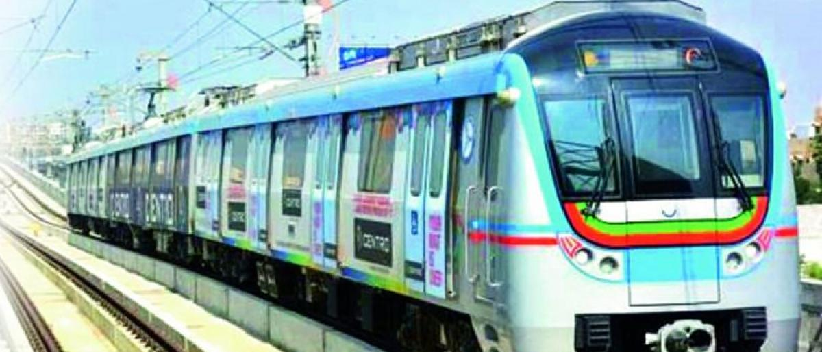 Hyderabad metro train halts mid-route due to technical glitch