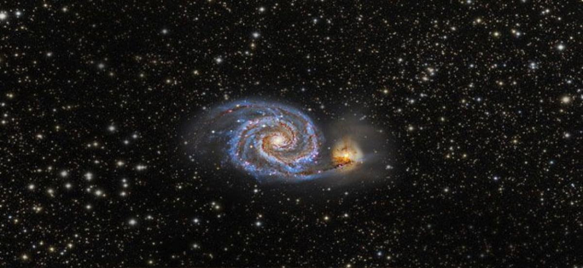 Cosmic crash with dwarf galaxy reshaped Milky Way