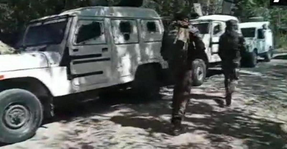 J&K: Encounter breaks out between security forces and militants in Bandipora