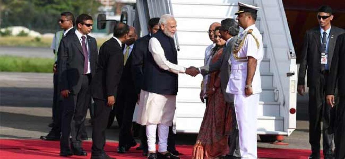 Modi attends Maldives Prez Solihs swearing-in ceremony as island shifts towards India from China