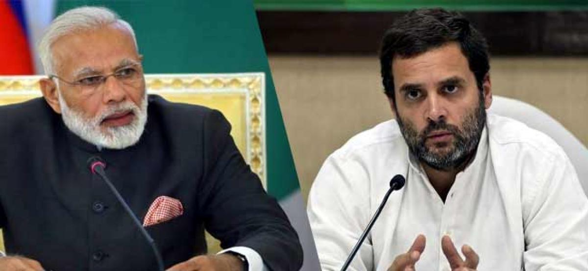 PM Modi says he is a common man but only hugs the privileged, not farmers or jawans: Rahul Gandhi