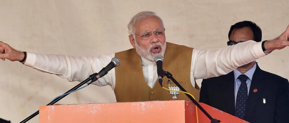 Aiyar gave supari in Pak to remove me: PM Modi